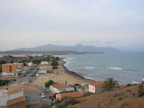 Playa en Lorca