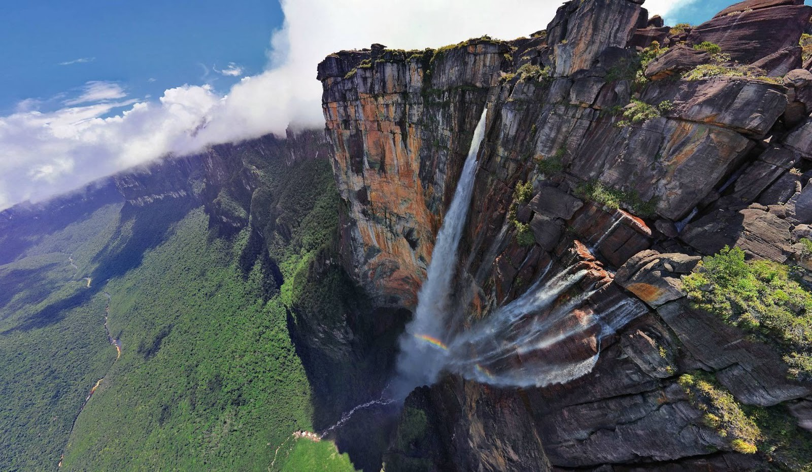 cascada en Venezuela