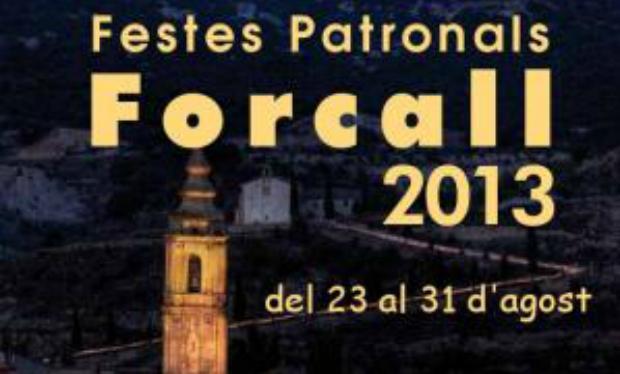 Cartel de las fiestas patronales de Forcall