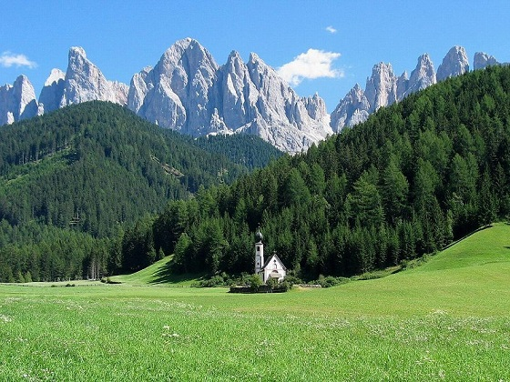 Montañas Suiza