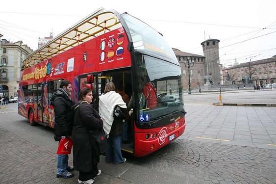 Autobús Turístico en Turín