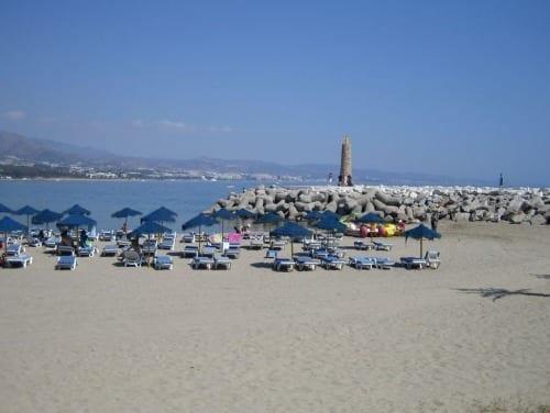 Playa en Marbella