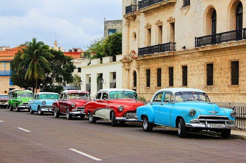 coches típicos de cuba