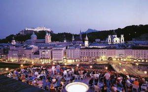 Noche en Salzburgo