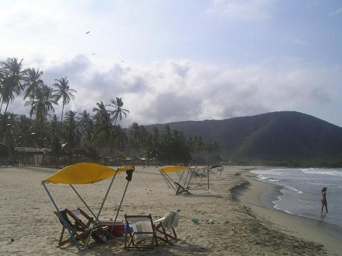 Playa en Venezuela