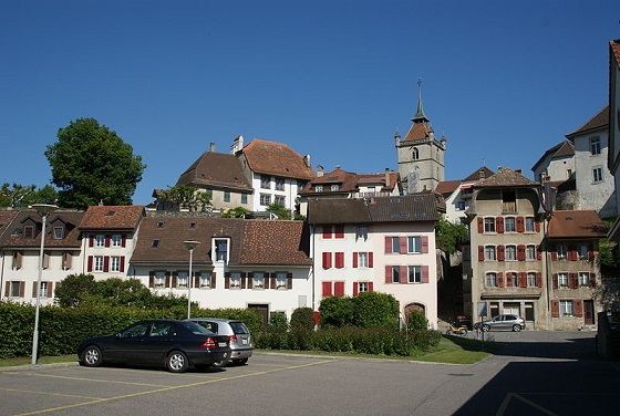 Turismo Suiza5 Estavayer le Lac, pueblo medieval en Friburgo