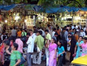 Mercado en Bombay
