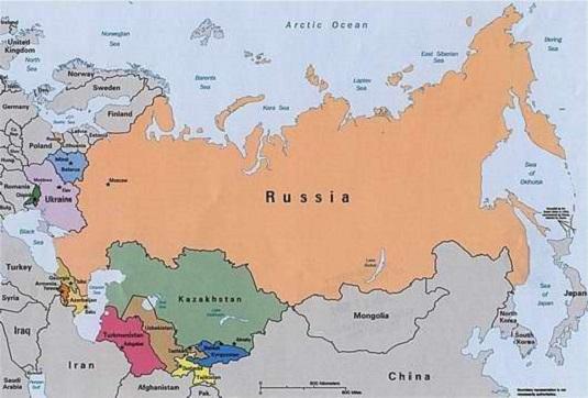 rusia-mapa
