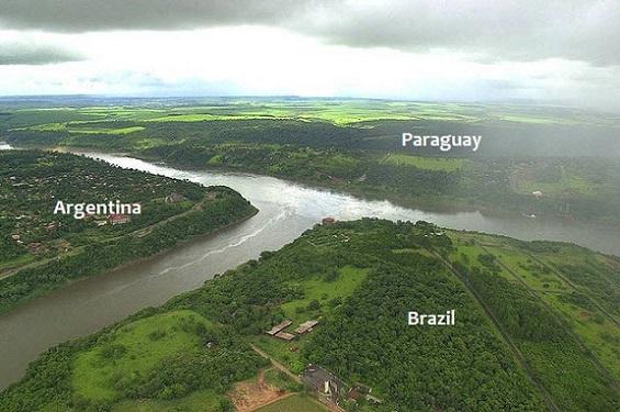 Conozca la Triple Frontera : Argentina, Brazil y Paraguay
