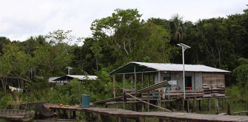 Vivienda de los Warao