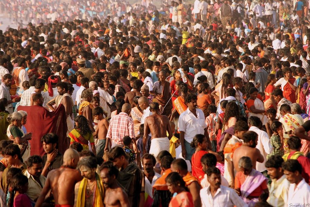 Densidad poblacional en la India