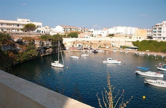 Cala Corb en Menorca