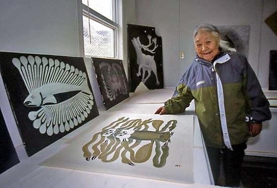 Kenojuak Ashevak, fue la artista inuit más reconocida de las últimas décadas