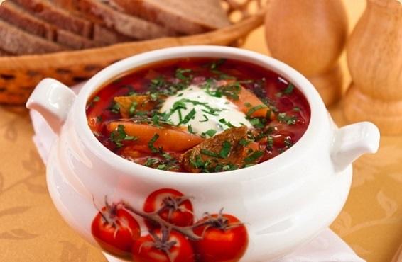 Borsch es la famosa sopa de muchas familias rusas