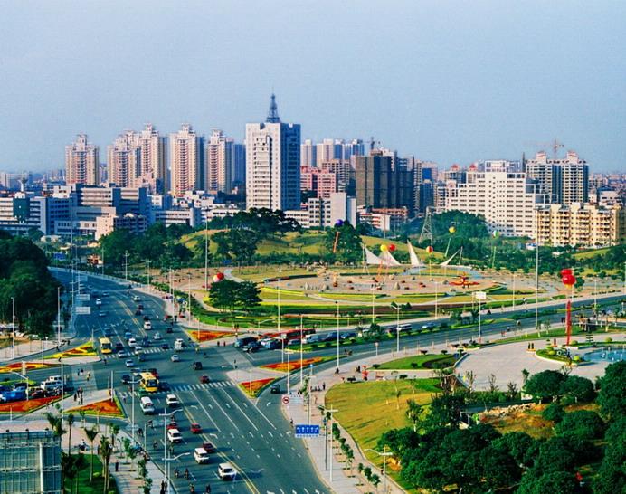 Dongguan es una de las ciudades de mayor exportación en China