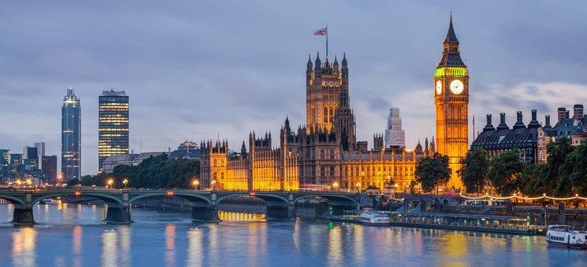 Foto de Inglaterra con el Támesis
