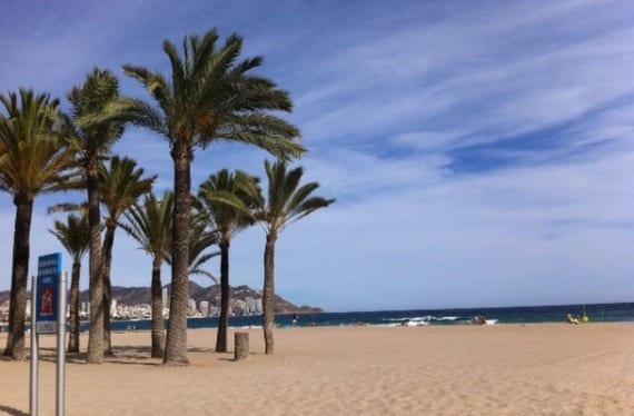 Playa en Benidorm