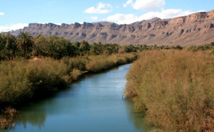 Río en Marruecos