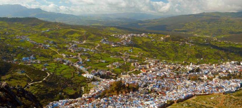 Ciudad del Rif en Marruecos