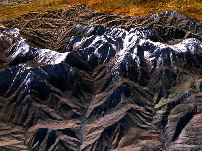 Montaña en Marruecos