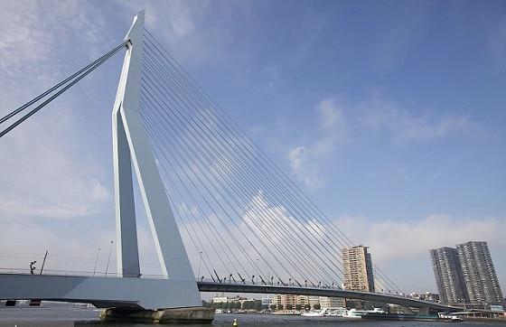 Puente Erasmus en Rotterdam