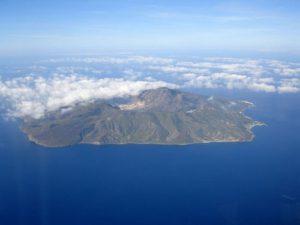 Volcán en Nysiros