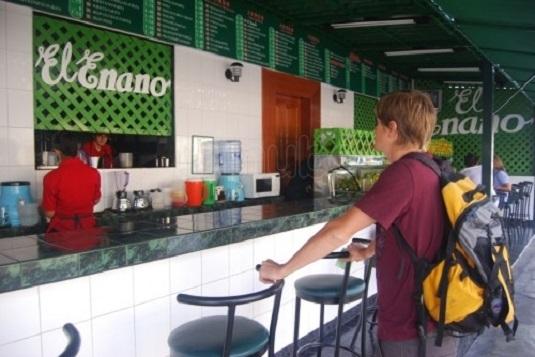 Una de las populares juguerías en el distrito de Miraflores