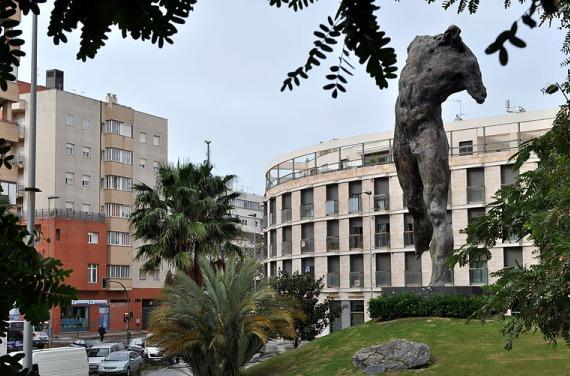 Rotonda en Jerez