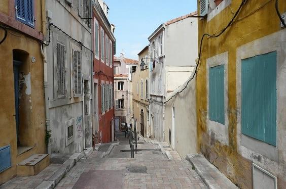 Le Panier, la parte más antigua de Marsella