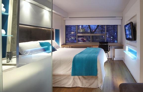 Hoteles de dise o contempor neo en toronto for Descripcion de una habitacion de hotel