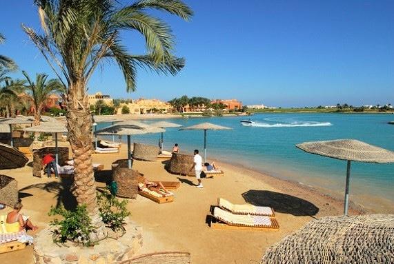 Hermosa playa en El Gouna