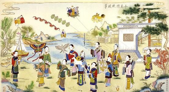Las cometas fueron inventados en China hace aproximadamente 3000 años