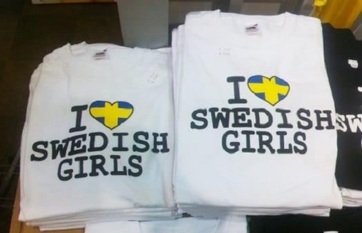 souveniers Suecia