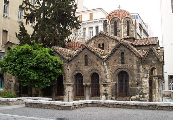 Kapnikarea, una iglesia que data del siglo 11