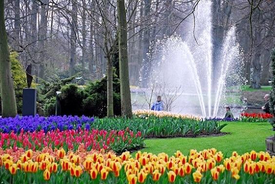 Keukenhof, conocido como el Jardín de Europa