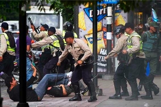 policia venezolana