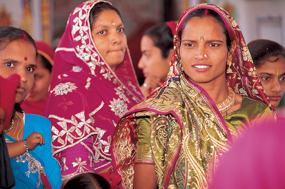 Vestimenta Mujeres India