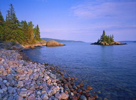 Stone Beach, en la costa de Ontario