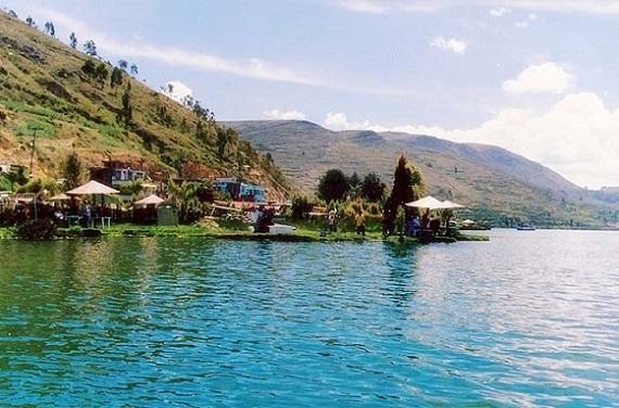Hermosa vista de La Laguna de Paca