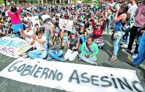Protestas-Estudiantes-Caracas