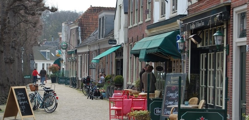 Voorschoten, una villa de Holanda del Sur