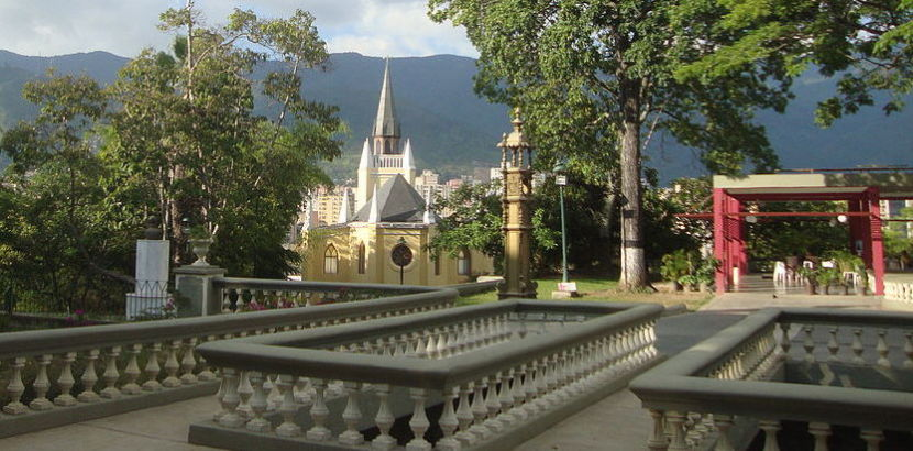 Parque en Caracas