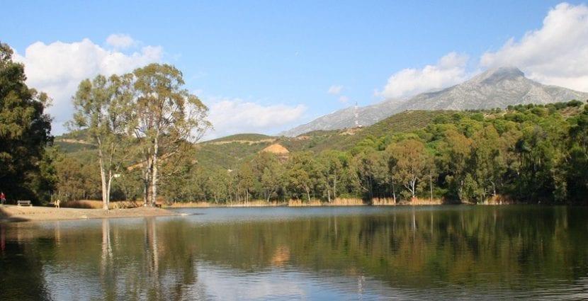Lago en Marbella