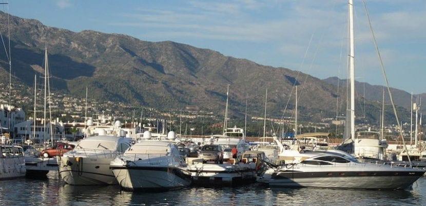 Barcos en Marbella