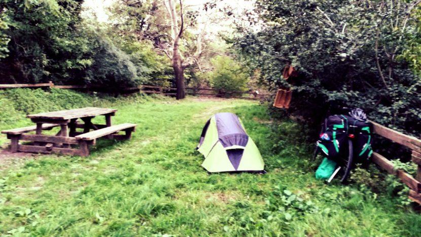 acampar en croacia