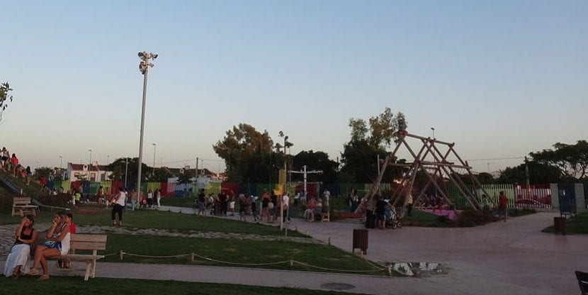Parque en Jerez de la Frontera