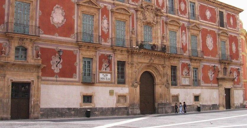 Plaza Belluga en Murcia