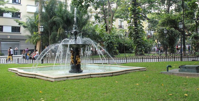 Plaza de Bolívar en Caracas