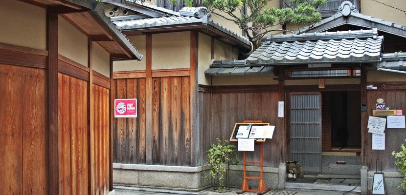 Restaurante en Ishibei-koji, Kioto