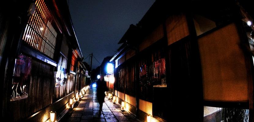 Ishibei-koji de noche